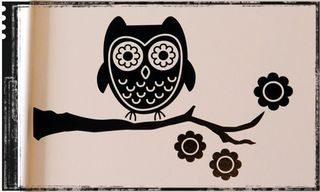 Owl-decal