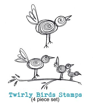 Twirly-Bird-Stamp-Set