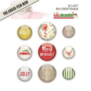 PO glitzdesign hello december GR0847