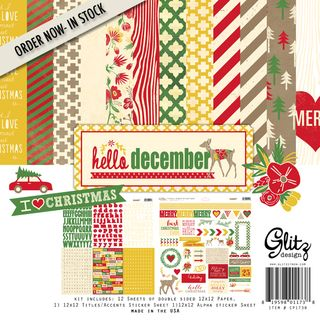 PO glitzdesign hello december CP1738