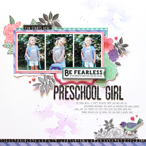 Preschool Girl - photo 2