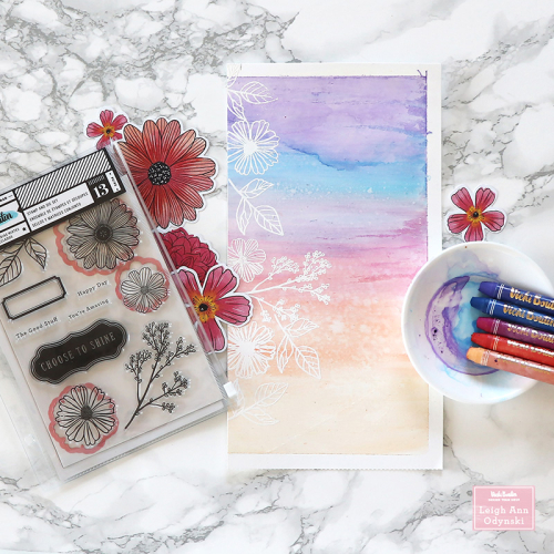 2-VBDT-aug-sunset-layout-heat-embossed-flowers