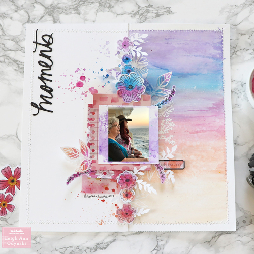 7-VBDT-sunset-layout-finished-scrapbook-page-watercolored
