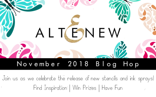 November 2018 Blog Hop Graphic