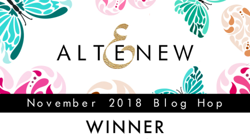 November 2018 Blog Hop Winner