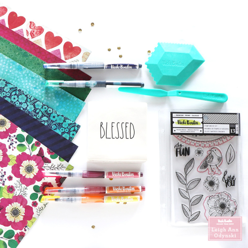 3-VBDT-new-Color-Kaleidoscope-paper-craft-products