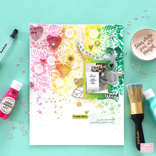 1-VBDT-glitter-gel-layout-floral-stencil-1