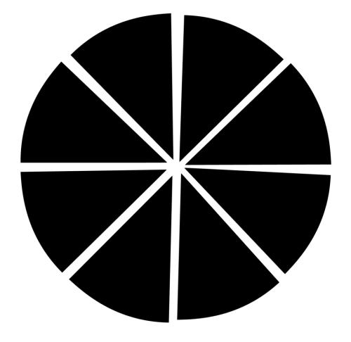 NSD pie chart cut file